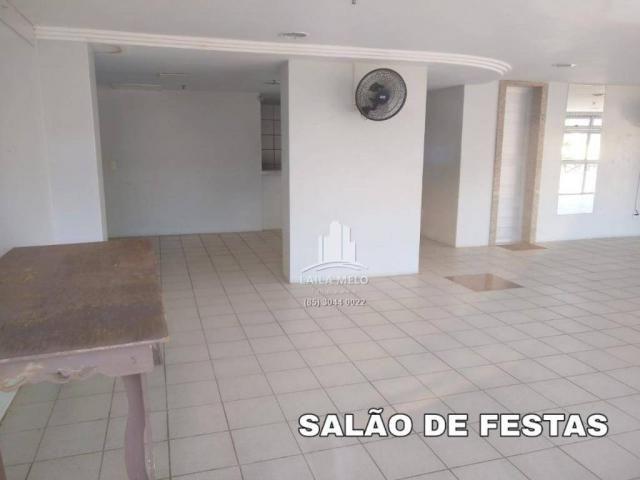 Apartamento com 3 dormitórios à venda, 53 m² próximo ao mega atacadista- cambeba - fortale - Foto 18