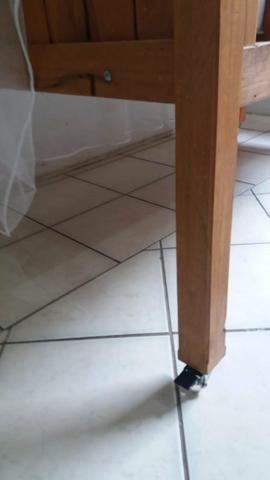 Berço estilo rústico em madeira nobre. Praticamente novo! - Foto 5
