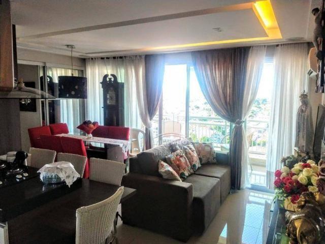 Apartamento no lago jacarey,74 m2,3 quartos,lazer completo,cidade dos funcionários