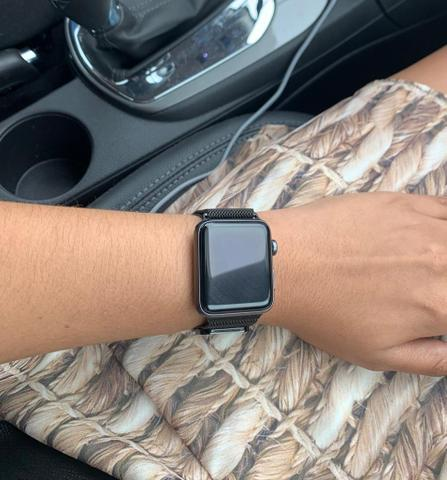 Apple Watch Series 3 42 mm preto - Foto 4