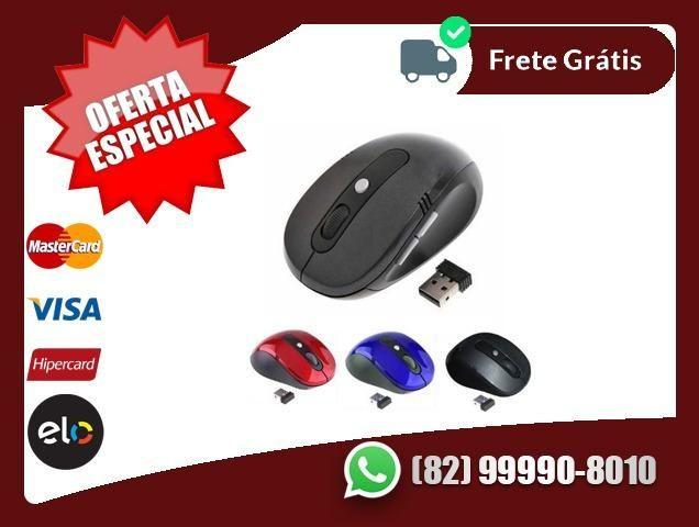 Preço.e.Qualidade-Mouse Profissional Sem Fio Wireless Usb