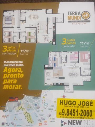 TERRA MUNDI PARQUE CASCAVEL 2 e 3 Quartos com suítes Plenas - Foto 14