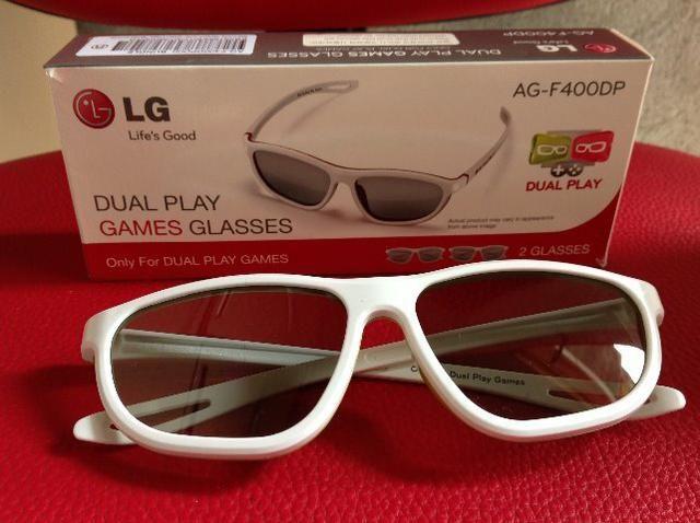 Oculos LG 3D Dual Play Games Glasses - Foto 2