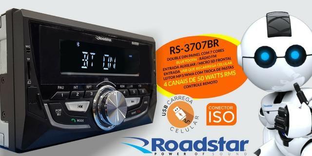 Rádio MP3 Bluetooth Double Din - Foto 2