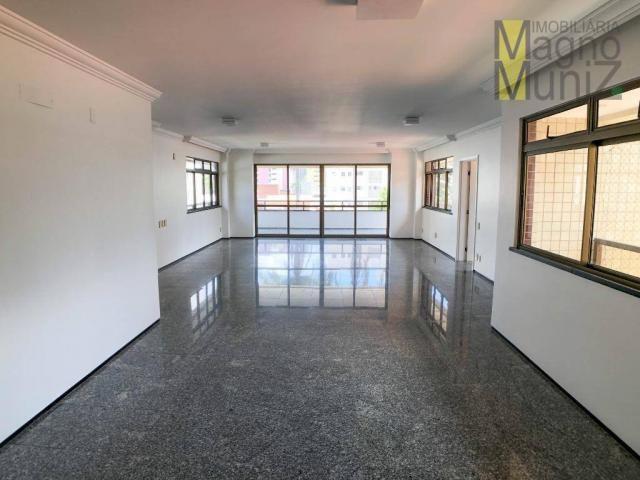 Apartamento com 4 suítes para alugar, 300 m² por r$ 2.500/ano - meireles - fortaleza/ce
