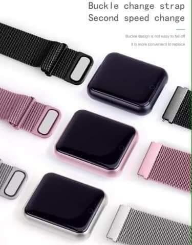 Relógio Smartwatch P70 + 2 pulseiras silicone /metal. Queima de estoque!! - Foto 5