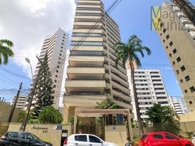 Apartamento com 4 suítes para alugar, 300 m² por r$ 2.500/ano - meireles - fortaleza/ce - Foto 2
