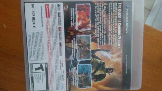 Jogo PS3 infamous 2 - Foto 2