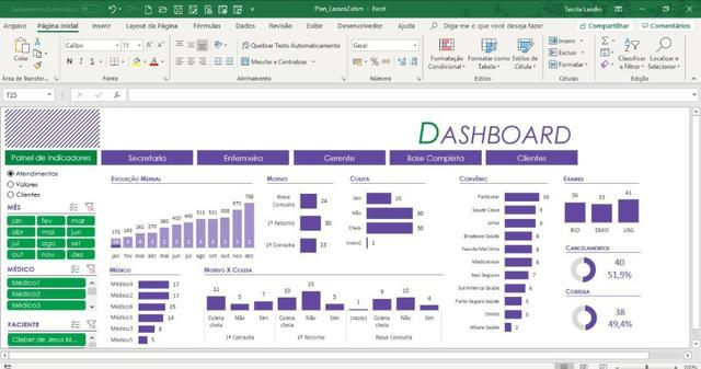 Curso de DashBoard em Excel - Foto 4