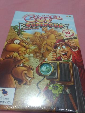 Jogo de tabuleiro (boardgame): Expansão do jogo Camel UP (Camel UP Supercup)