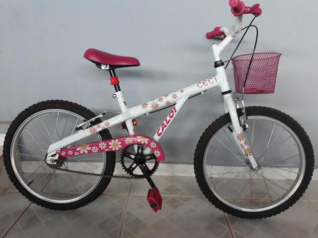 Bicicleta aro 20 caloi ceci