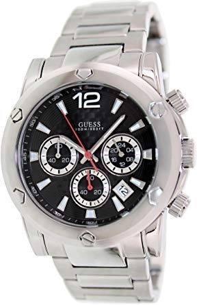 f8e1ec5b895 Relógio de Pulso Guess WaterPro Masculino Prata Original - U15035G2 ...
