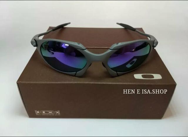 efdc2f6de4a0a Óculos Oakley Romeo 1 Xmetal Lente Roxa Novo na caixa Frete grátis ...