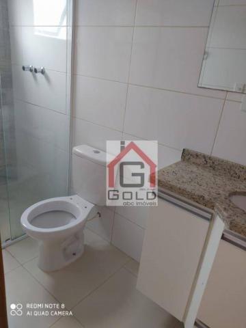 Apartamento com 3 dormitórios para alugar, 88 m² por R$ 2.000,00/mês - Campestre - Santo A - Foto 11