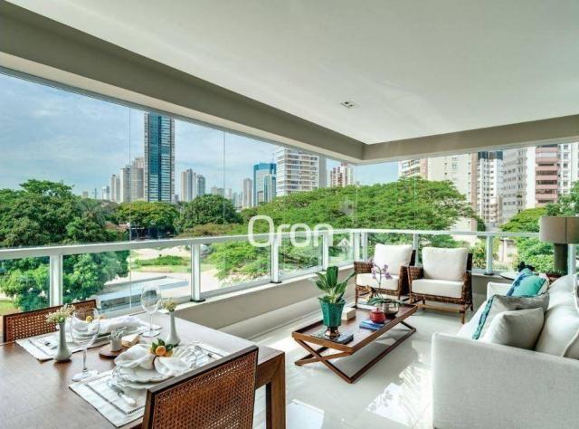 Apartamento com 5 dormitórios à venda, 382 m² por R$ 3.019.000,00 - Setor Oeste - Goiânia/ - Foto 12