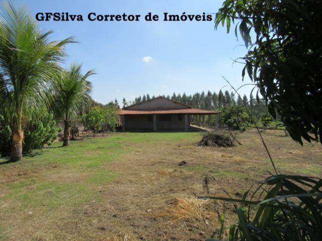 Chácara 2.027 m2 água encanada, lúz, casa ampla, Oportunidade Ref. 445 Silva Corretor - Foto 3