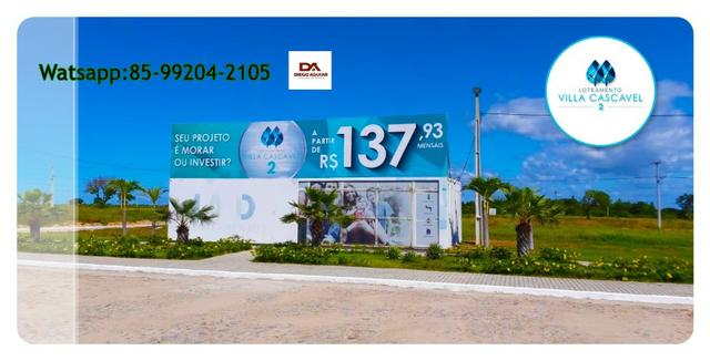 Loteamento em Cascavel pertinho das praias com parcelas a partir de R$ 137,00