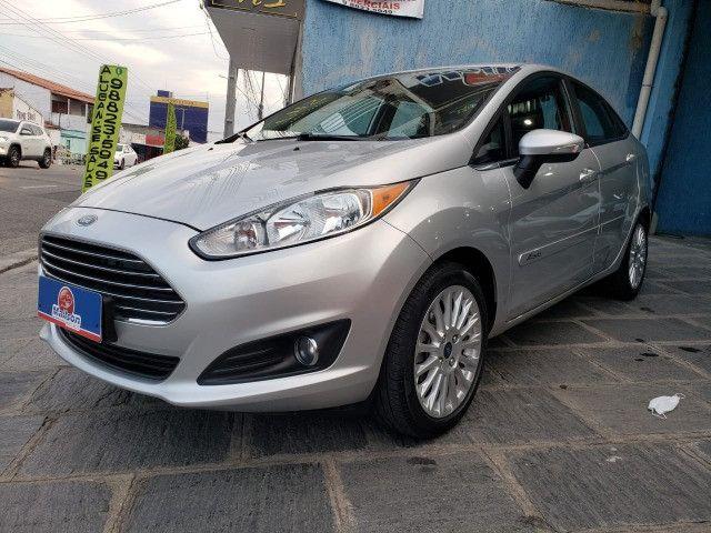 Ford Fiesta 1.6 Titanium 2015 Sedan. Um Dos Mais Novos De Campina - Foto 4