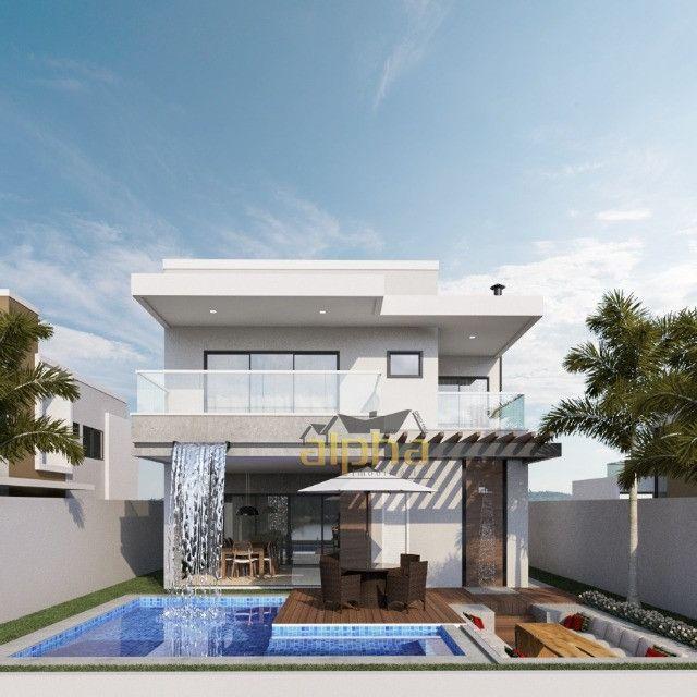 Luxuosa Casa em Condomínio Fechado - Alphaville Terras Ceará 01 - Foto 6