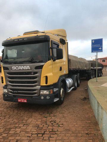 Caminhão Scania 470 com motor 440 6x4 - Foto 12