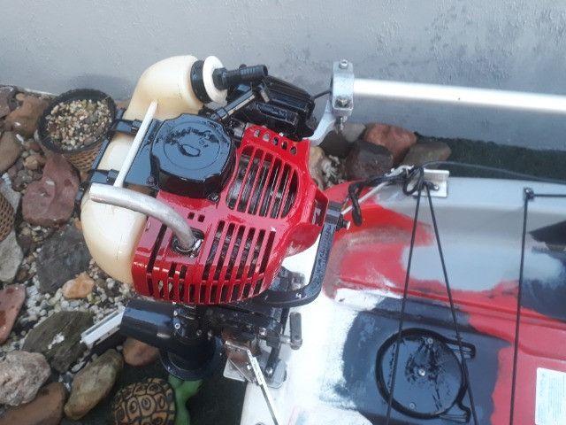 Caiaque Leader com Pedal e Motor - Foto 6