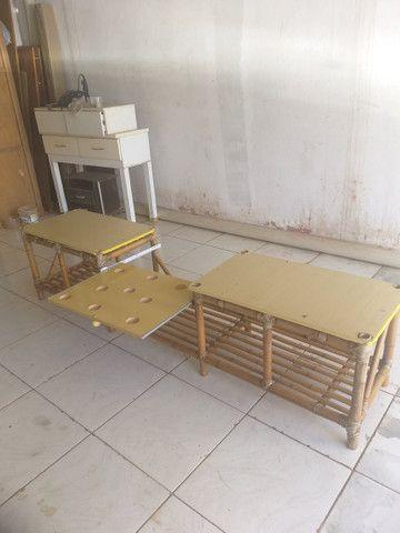 Banco rack de bambu entrego dentro Uberlândia - Foto 2