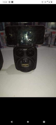 Caixa de som Bluetooth FM - Foto 4