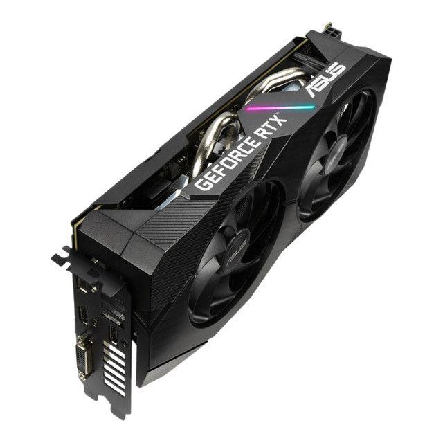 Placa de Vídeo Asus GeForce RTX 2060 Dual 6GB  GDDR6 - Foto 2