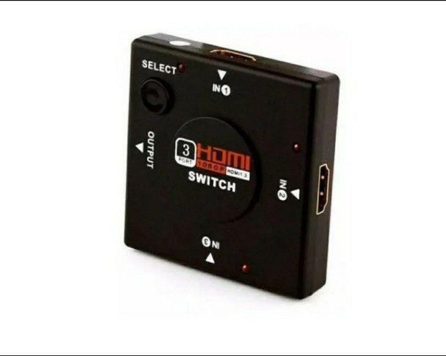 Hub Adaptador Hdmi Switch 3x1