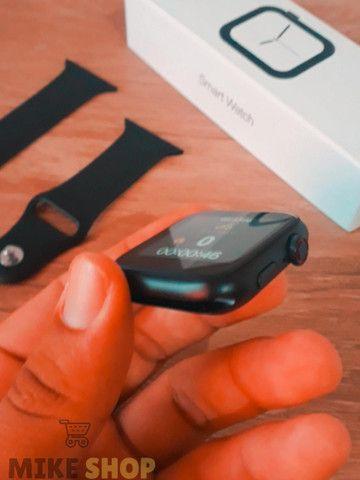 Relógio Digital Feminino Smartwatch Troca Foto Faz Ligação - Foto 2