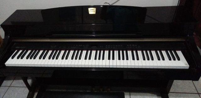 piano yamaha clavinova cpl330 eletrônico - Foto 4