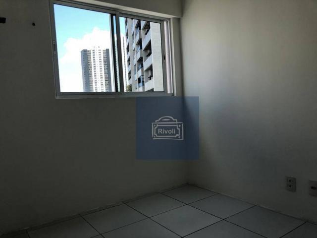 Apartamento para alugar, 48 m² por R$ 2.100,00/mês - Tamarineira - Recife/PE - Foto 4