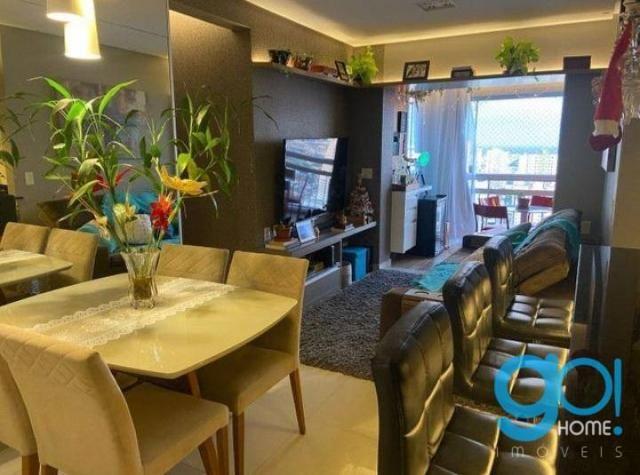 Apartamento com 3 dormitórios à venda, 78 m² por R$ 550.000 - Cremação - Belém/PA - Foto 8