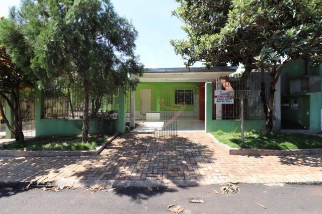 Casa com 3 dormitórios para alugar, 125 m² por R$ 1.600/mês - Jardim Duarte - Foz do Iguaç