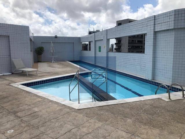 Apartamento para alugar, 48 m² por R$ 2.100,00/mês - Tamarineira - Recife/PE - Foto 18