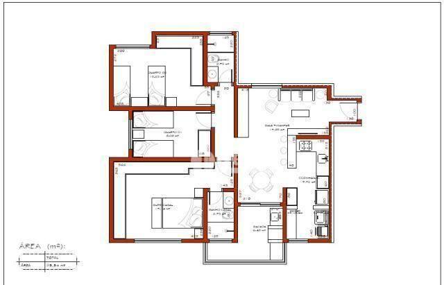 Apartamento com 3 dormitórios à venda, 95 m² por R$ 350.000,00 - Presidente Roosevelt - Ub