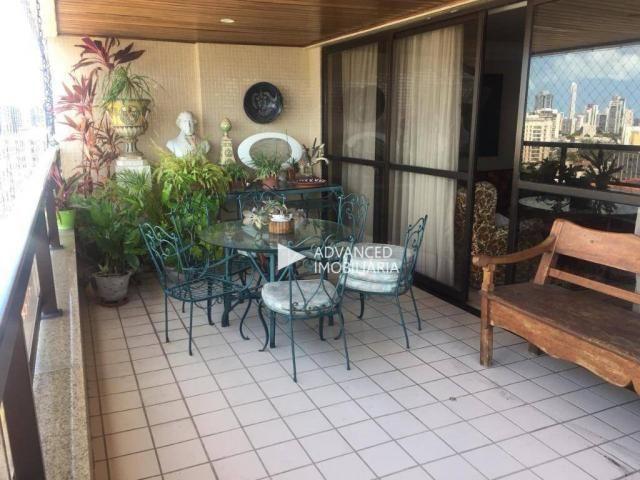 Apartamento com 4 dormitórios à venda, 260 m² por R$ 1.500.000 - Graças - Recife/PE - Foto 5