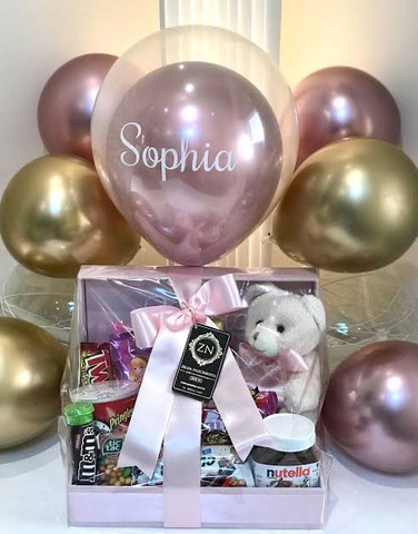 Festa na caixa com balão  - Foto 2