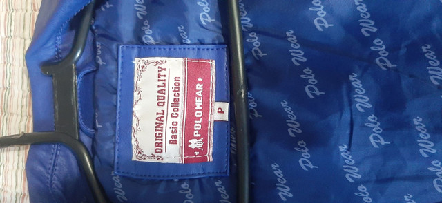 Jaquete em Couro da Polo Tam.P - Foto 3