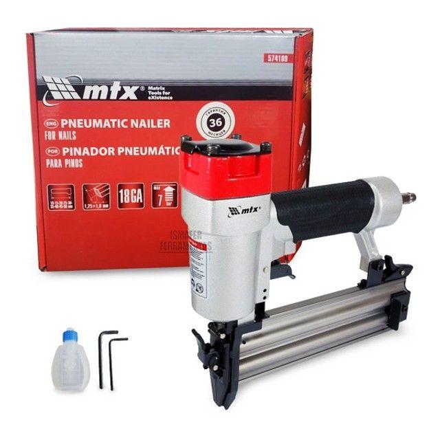 Pinador Pneumático 110PSI para 100 Pinos 10 a 50 mm 574109 MTX - Foto 2