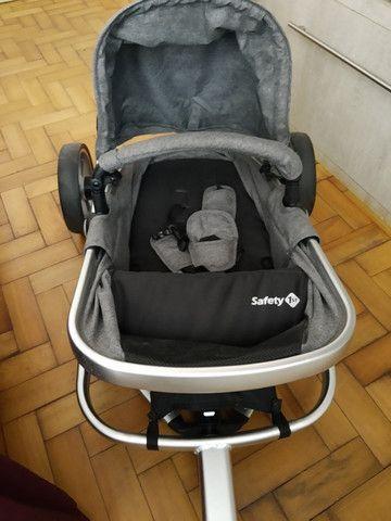 Carrinho bebe + bebê conforto - Foto 2