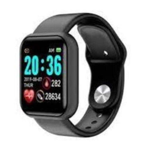 Relógio Smartwatch Android Ios Inteligente D20 Bluetooth - Foto 3