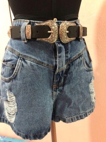 Saia Jeans +short jeans - Foto 5