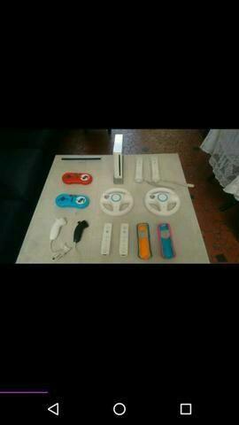 Wii com acessorios