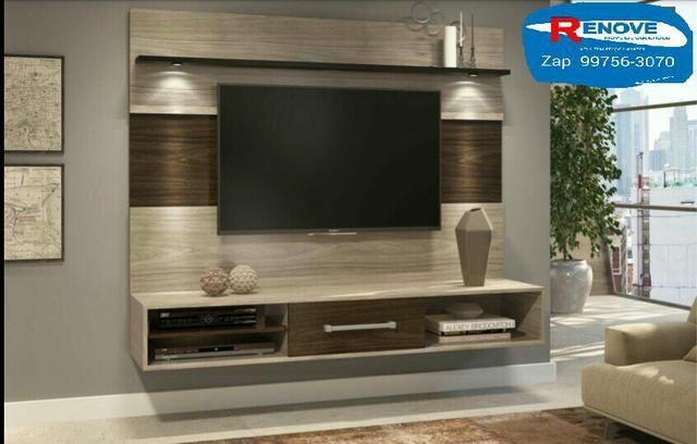 OFERTÃO!!! painel Novo pra TVs até 60p com leds+suporte grátis!