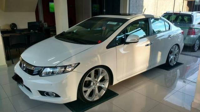 Honda Civic 2013 Exs Automático E Teto Solar Com Planos Especiais!