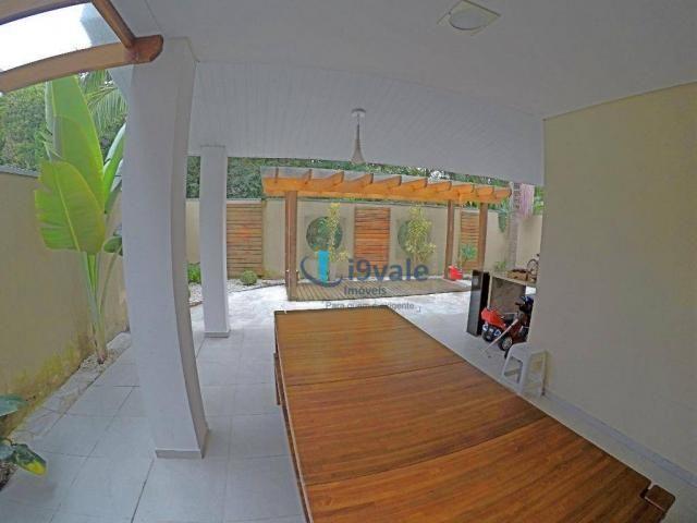 Linda casa à venda condomínio crystal park, área lazer privativa, vista para reserva ambie - Foto 6
