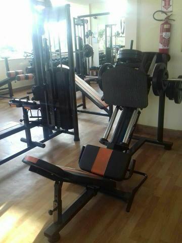 """Academia Completa - Equipamentos de Musculação Newlife Standard 3"""" Top"""