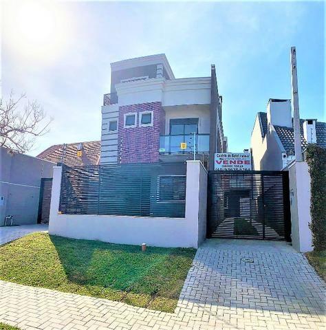 Sobrado Triplex 203 m², 4 quartos, 4 vagas de garagem, Hugo Lange