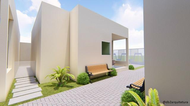 Casa no Luiz Gonzaga - 66m², Condomínio fechado com 6 casas, Financiamento Caixa - Foto 4